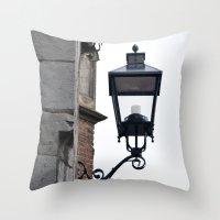 lantern Throw Pillows featuring Lantern by Marieken