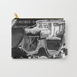 Old horse-drawn carriage Carry-All Pouch