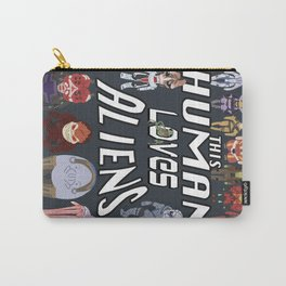 Aliens LOVE Carry-All Pouch