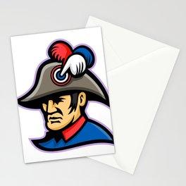 Emperor Head Mascot Stationery Cards