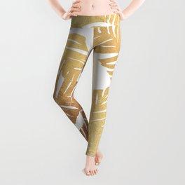 Glam Leaves Leggings