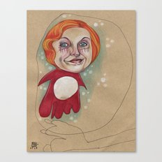 PONYO'S BUBBLE Canvas Print