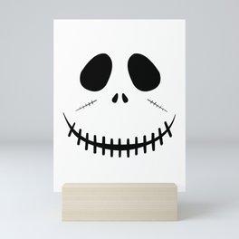 Zombie Face Mini Art Print