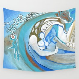 Sanity Over Greed Wall Tapestry