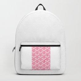 Pink Goyard Backpack