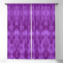 Lions Purple Damask Blackout Curtain