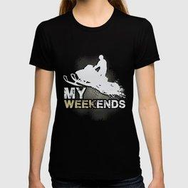 Snowmobile Weekends T-shirt