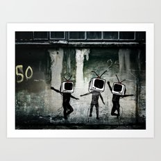 21st Century Digital Boys Art Print