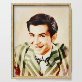Anthony Perkins, Vintage Actor Serving Tray
