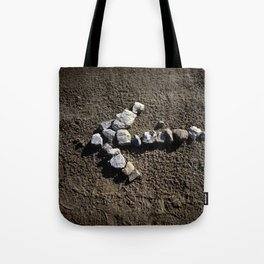 Stone arrow Tote Bag