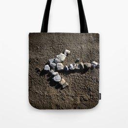 Stone arrow Tote Bag