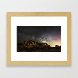 Lost Dutchman's Gold Framed Art Print