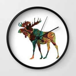 NORTH WOODS Wall Clock