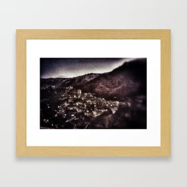 South Italy Framed Art Print