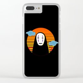 No Face a Lonely Spirit Clear iPhone Case