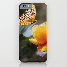 Painterly Butterfly iPhone Case