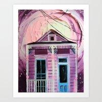 Shotgun House Art Print