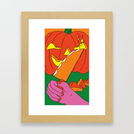 Spooky Spice Framed Art Print