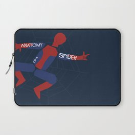 Anatomy of a Spider Laptop Sleeve