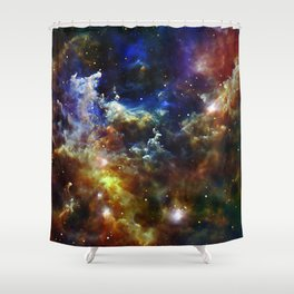 Cradle of Stars Shower Curtain