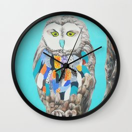 Imaginary owl Wall Clock