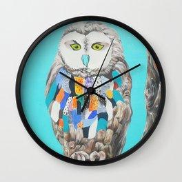 Imaginary owl Wall Clock