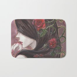 Red Delicious Bath Mat
