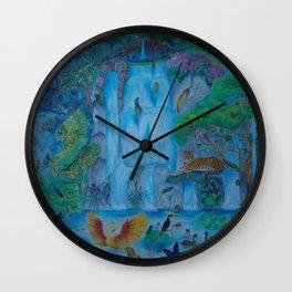 Wild Animals Wall Clock