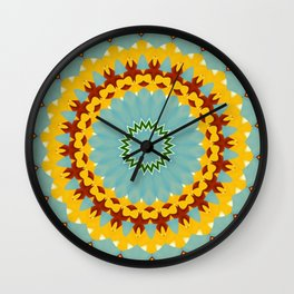 Eyecatching Sunlighter Mandala 3 Wall Clock