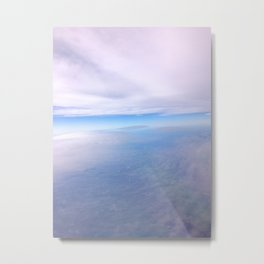 Between the Clouds Metal Print