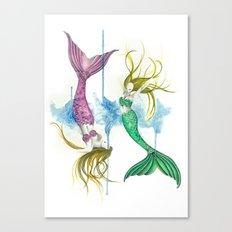 Zodiac - Pisces Canvas Print