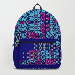 """""""Glitch"""" series #7 Backpack"""