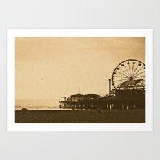 Ferris Wheel  Art Print