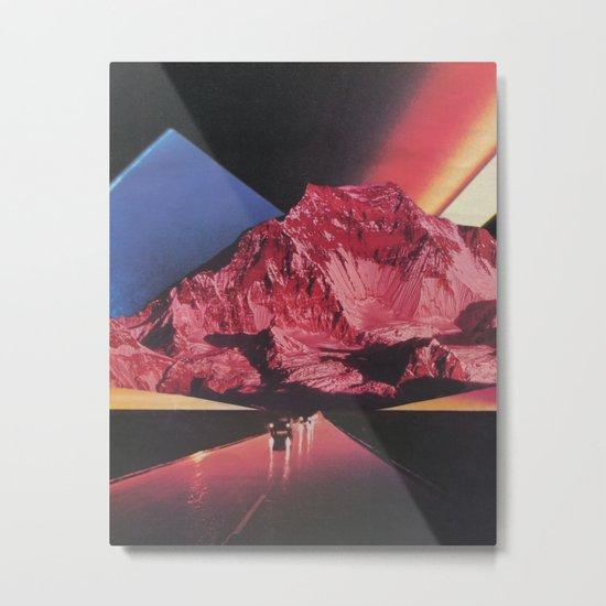 Neon Highway Metal Print