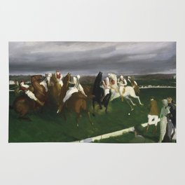 Polo at Lakewood - George Bellows  Rug