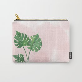 Watercolor tropical leaf Carry-All Pouch