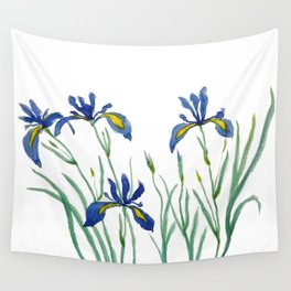 iris Wall Tapestry