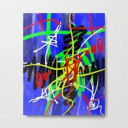 Abstract Urban Art Metal Print