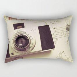 Vintage Captures Rectangular Pillow