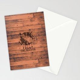 Oklahoma Flag Brand Stationery Cards