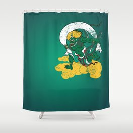 Fūjin Shower Curtain