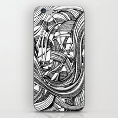 Into The Wild (b&w version) iPhone & iPod Skin