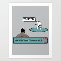 TRAITOR Art Print
