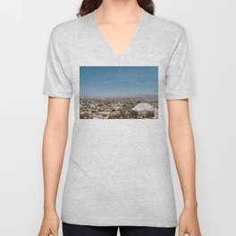 Cabo City View Unisex V-Neck