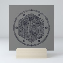 The Folly of Time and Space, Explained Mini Art Print