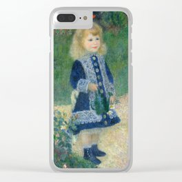 Pierre-Auguste Renoir A Girl with a Watering Can Clear iPhone Case