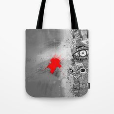 On/off Tote Bag