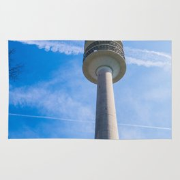 Olmpic tower Munich Rug