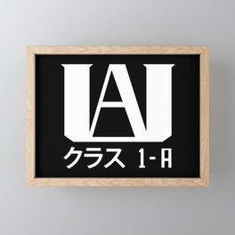 Hero Academy 1 - A v1 Framed Mini Art Print