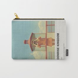 Moonrise Kingdom  Minimal Movie Poster No 01 Carry-All Pouch